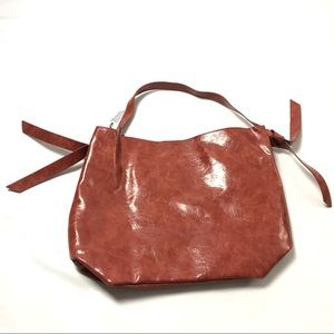 Anthropologie Women's Brown Leather  Hobo Tote